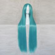 Harukanaru Toki no Naka de Fujiwarano Takamichi 100CM Long Blue Cosplay Wig + Free Wig Cap
