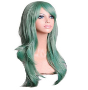 Anime Long 60cm Wavy Lolita Cosplay Wig