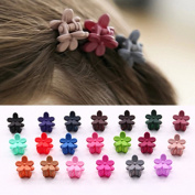 Cuhair(tm) 20pcs Women Girll Hair Bangs Mini Hair Claw Clip Hair Pin Flower Accessories