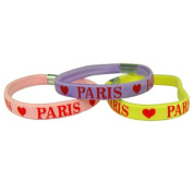 Souvenirs of France - 3 x Hearts of Paris Scrunchies