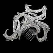 Women's Rhinestone Hairpin Wedding Bridal Comb