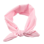 Solid Colour Elastic Hair Hoops Headbands 38cm for Baby Girl