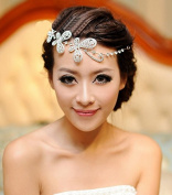 Bling Alloy Rhinestone Bride Bridal Wedding Accessory Hair Head Band Wear Jewellery Headdress Headbands Tiara Soft Headpieces