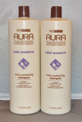 Aura Colour Protecting Shampoo 1000ml (2 pack) Total = 2000ml