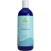 100% Natural Hair Gel for All Hair Types - Strong Gel Infused with Moisturising Jojoba Oil & Aloe Vera - Great for Men & Women - Sulphate & Paraben Free - 120ml - By Honeydew