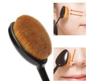 Makeup Brushes-make up Brushes-face Kabuki Brush-foundation Contour Powder Blush Brush Blending Cream Concealer Brush-beauty Cosmetic-makeup Kit-curved Foundation Brush