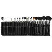 Pro 24pcs Make Up makeup Brushes Set with Black Case UK by KurtzyTM
