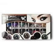 Shiny Eye Shadow Tattoo Pro Makeup Cream Eyeshadow Highlight Palette 12 Colours