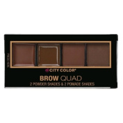City Color Brow Quad - Medium