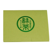 Japanese Premium Oil Blotting Paper -Natural green tea blending- 100Sheets