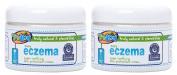 TruKid Easy Eczema Cream 350ml Jar - 2 Pack