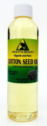 Cottonseed / Cotton Seed Oil Organic Carrier Winterized Cold Pressed 100% Pure 120ml