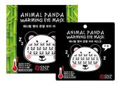 SNP Animal Tiger Panda Warming Eye Mask (5pcs) eye fatigue relaxing, Sleeping aid mask