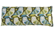 Sweet Dreams Boxed Cooling Eye Pillow Green Owl Print