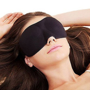 ASOX 3D Portable Soft Travel Sleep Rest Aid Eye Mask Cover Sleep Anywhere Anytime - Ideal for Men and Women - Great for Travellers - Sleep Satisfaction Guaranteed
