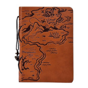 Coromose® Vintage Leather Cover Notebook Journal Diary Blank String Nautical
