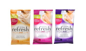 Ban Total Refresh Cooling Body Cloths Variety Pack - Enliven 10 Ct, Energise 10 Ct, Restore 10 Ct