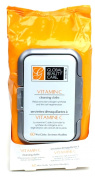 Global Beauty Care Vitamin C Cleansing Cloths for Collagen Stimulation and Cell Regeneration