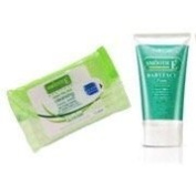 Smooth E Babyface Foam and Cleansing Facial Wipes in one set