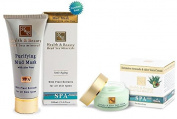 H & B Dead Sea Purifying Mud Mask Enriched. loe Vera & Intensive Avocado & Aloe Vera Cream