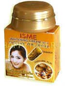 3 Pack WHITENING FACE CREAM WITH CURCUMA,PLAI,TANAKA GOOD THAI HERBAL