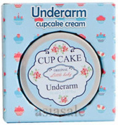 2 X Cupcake original by little baby UNDER ARM Armpit Underarm WHITEN and SOFTEN