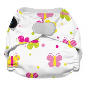 Imagine Baby Products Newborn Stay Dry All-In-One Hook and Loop Cloth Nappy, Flutter