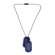Chewbeads Juniorbeads Military Dog Tag For Children - Blue