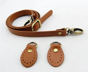 1piece 120cm Adjustable Bag Straps with Tabs,soft Genuine Leather Bag Strap,genuine Leather Shoulder Handles,camel Leather Handbag Straps Kz0277