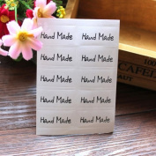 AUCH 30Pcs Square Hand-made Sealing Paste Stickers, Gifts Labels