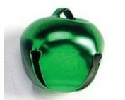 8 Green 25mm Jingle Bells for Crafts | Craft Bells