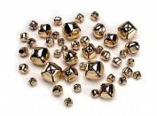 43 Gold Assorted Jingle Bells for Crafts | Craft Bells