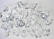 Demoon- Rocks-Acrylic Clear Coloured Ice Rock Cubes 300g/bag, Vase Filler or Table Decorating Idea