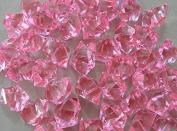 Demoon- Rocks-Acrylic Clear Coloured Ice Rock Cubes 300g/bag, Vase Filler or Table Decorating Idea