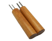Double Hole Paper Bead Roller, Set of 2 Sizes, 0.2cm and 0.3cm Slotted Pins