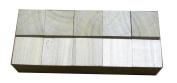 5.1cm Hardwood Square Blocks / Cubes-Bag of 10 / Hardwood Craft Blocks