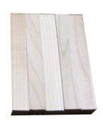 North American Maple Hardwood Turning Pen Blanks | Wood Pen Blanks 5 Pack | 1.9cm X 1.9cm X 13cm