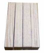 North American Oak Wood Turning Pen Blanks | Wood Pen Blanks 6 Pack | 1.9cm X 1.9cm X 13cm