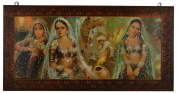 Imperial Wood Canvas Rajasthani Painting