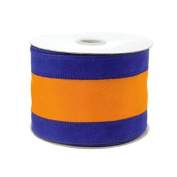 Stripe Sports Theme Ribbon Wired Edge, 5.1cm - 1.3cm , 10-yard