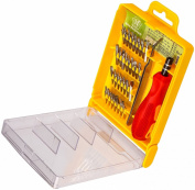 Putwo LifePlus 32 Pieces Drill Bit Screwdriver Bit Set with Hard Storage Case