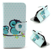 iPhone 6S case, Lookatool® for iPhone 6S 12cm Owl Leather Cover Case Skin