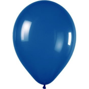 Belbal 60cm X 30cm Latex Wedding Balloons Mid Blue