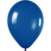 Belbal 60cm X 30cm Latex Wedding Balloons Mid Blue