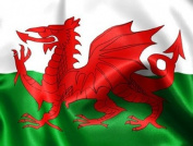 Flag Co 1.5m X 0.9m Wales Welsh Flag With Eyelets Red Dragon