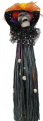 Katherine's Collection Day of the Dead Catrina Wine Tassel Decoration