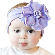 Susenstone®Lovely Unusal Cotton Girls Baby Flower Headband Hairband Headwear Elastic
