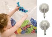 Lacasa Bath Toy Storage Bag - Bath Toy Organiser and Holder with 2 Bonus Suction Cups