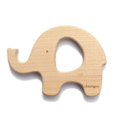 Cheengoo Sustainable Wood Elephant Teether