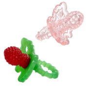Razbaby RaZberry Teether - Light Pink/Red 2-Pack by Razbaby